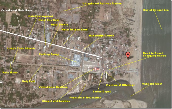 velankanni site map (satellite)2
