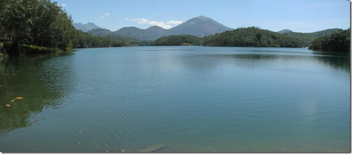 neyyar lake panorama