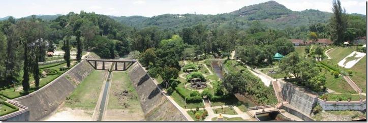 neyyar dam park panorama view