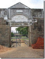 vattakottai fort entrance