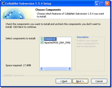 Installing Subversion on Windows - Step 1
