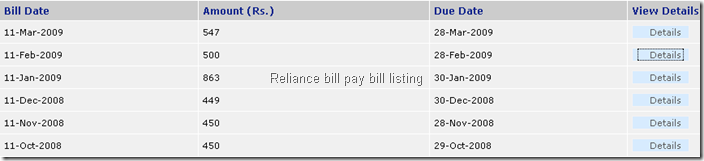 Reliance online bill pay for mobiles