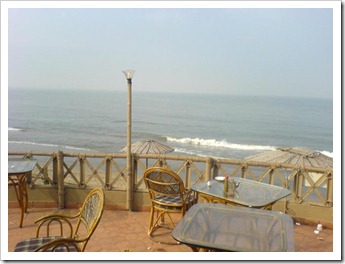 View from Baywatch restaurant - cherai beach