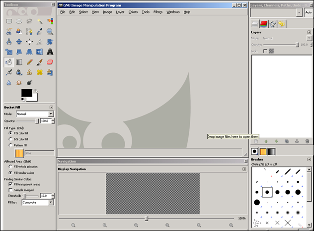 Organizing Gimp Windows