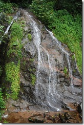 Waterfalls along the valparai - aliyar road