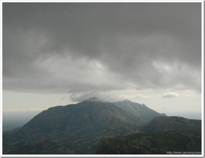 Anamalai hills along the Aliyar road