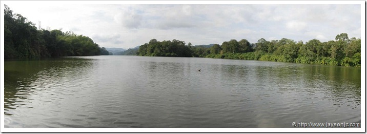 Panorama of Peringlakuthu Lake