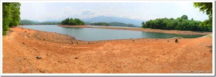 Peppara Dam Lake