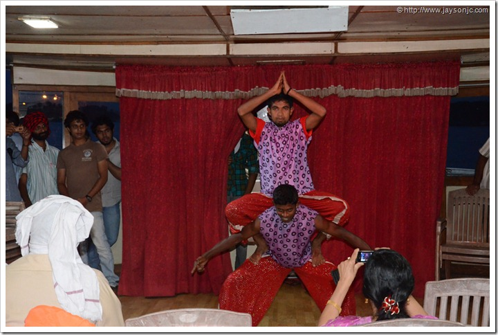 Live dance performance on Sagara Rani