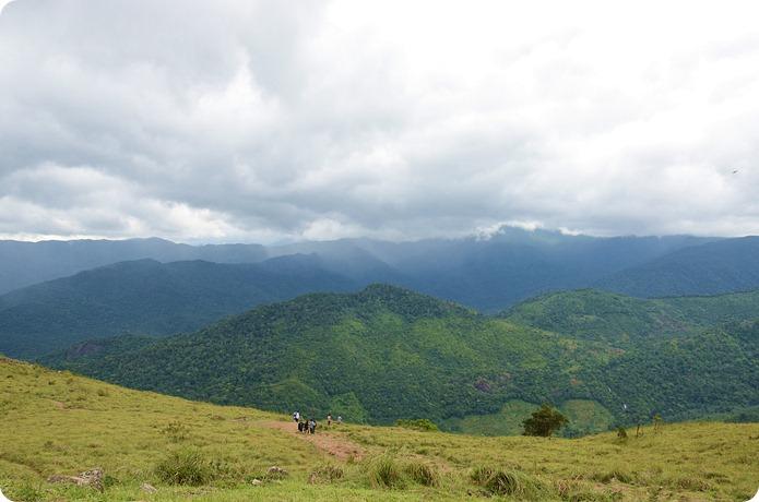 View from Ponmudi Top