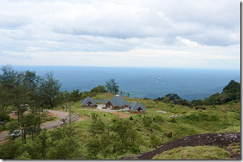 View of the new tourist amenity centre at ponmudi