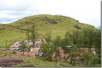 Parking spot at Ponmudi