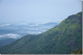 Early morning Valley view from Ponmudi