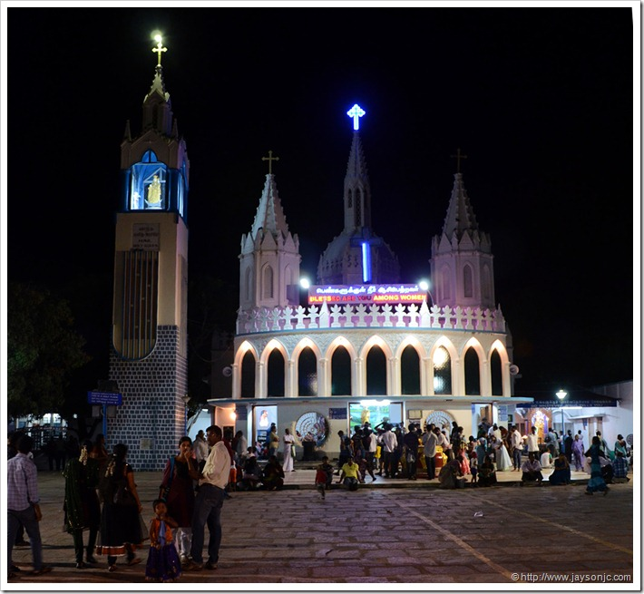 Lady's Tank Church, Velankanni