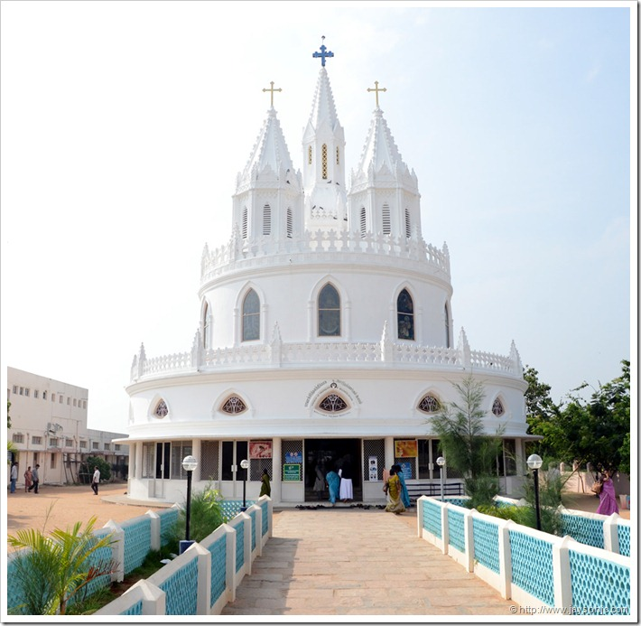 The Adoration and Reconciliation Chapel, Velankanni