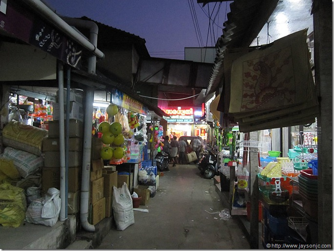 Chalai market at night