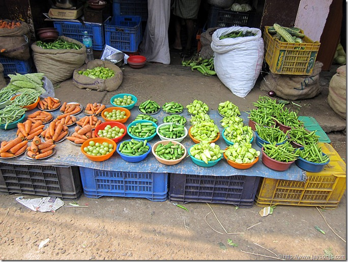 Vegetable market, Chalai, Trivandrum