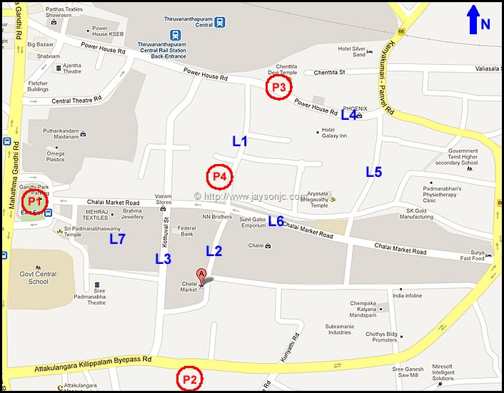 Chalai Shopping Areas